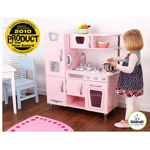 pink kitchen set from walmart.com