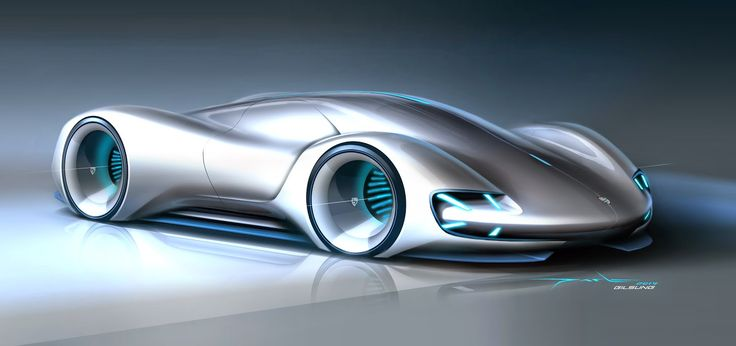 transportation design, car sketches, renderings, pforzheim