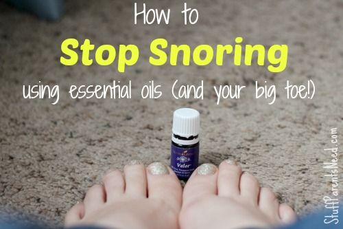 I used to snore every night. This is how I was able to stop snoring cold turkey. A drop is all you need to be on your way to restful sleep!