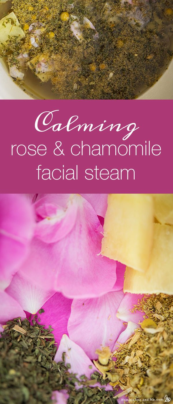 Best 25 facial steaming ideas on pinterest steam facial at home calming rose and chamomile facial steam solutioingenieria Choice Image