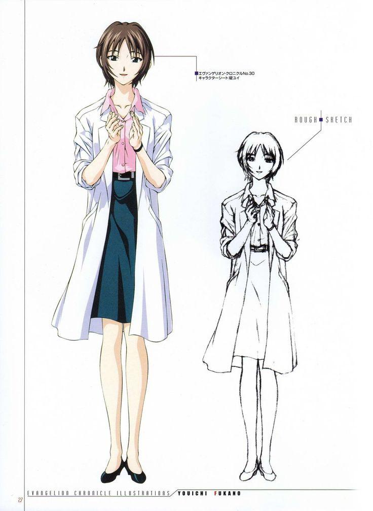 Yui Ikari from Eva artbook