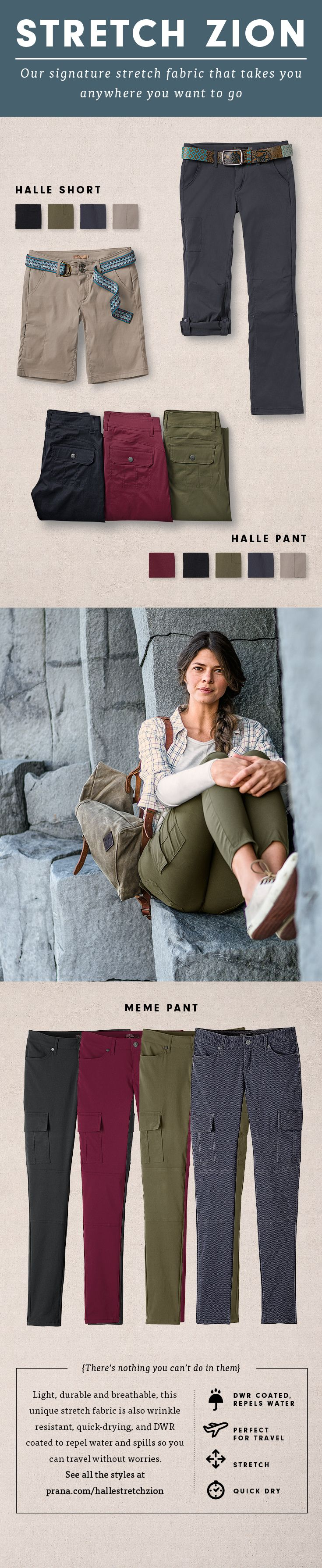 Outfit your next outdoor adventure with the ultimate in versatility and sustainable style! Find your favorite way to wear this light, durable travel must-have at prAna.com.