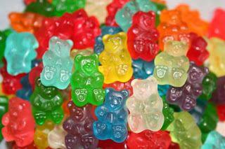Gummy Bears! my mamma's favourite!
