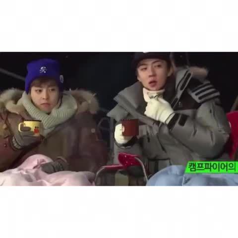 someone give this kid his damn marshmallow already 😂👏 #exo #exom #kpop #xiumin #kimminseok #minseok #cutie