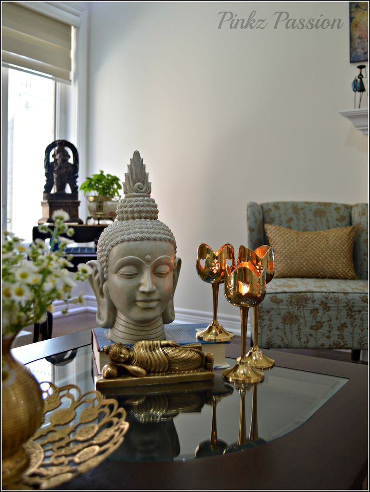 Incroyable Buddha Vignette, Brass Collections, Home Décor Vignette
