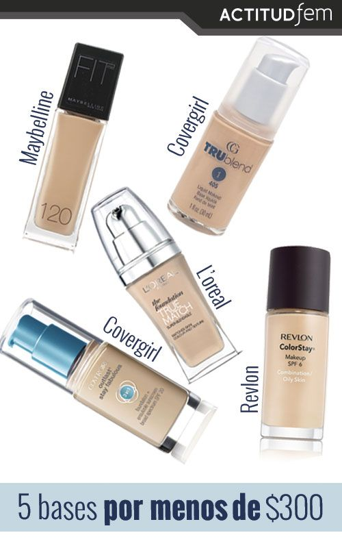 Bases de maquillaje para piel grasa | ActitudFEM