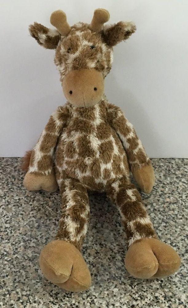 Jellycat Giraffe Tan Brown Plush Stuffed Animal Toy Pet