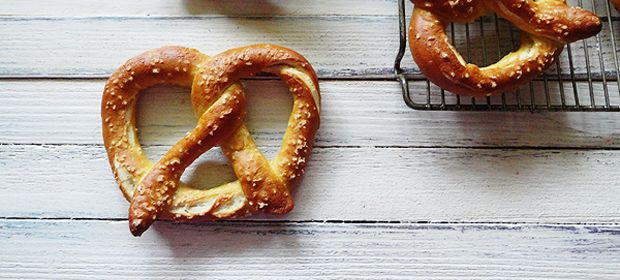 Homemade German Pretzels... made these and they were SUPER easy and SO delish!