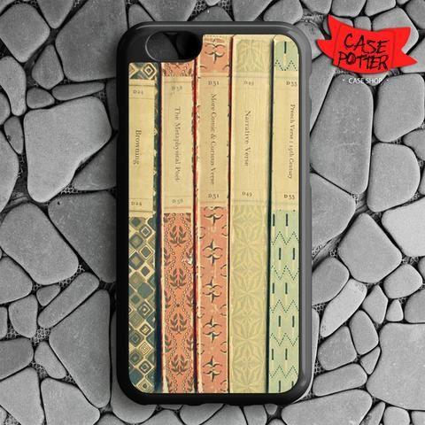 Old Book Shelf iPhone 6 iPhone 6S Black Case
