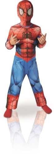 Déguisement Spiderman + masque (3/4 ans)