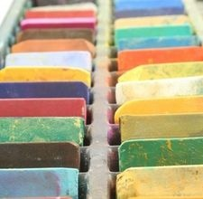 how to use oil pastels - also has a link on how to clean pastels