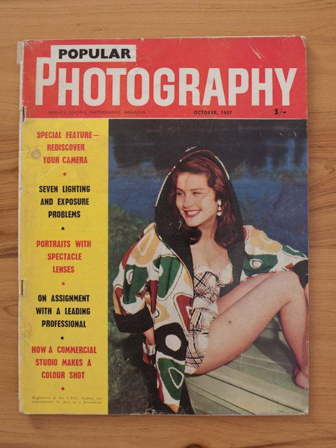Popular Photography magazine October 1957 by freshdarling on Etsy