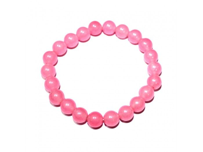 Rose Quartz Bracelet, Buy Rose Quartz Bracelet online from India.