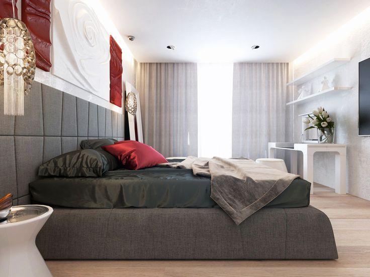 Спальня в стиле ар деко.