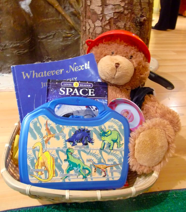 Prop Story activity: Whatever Next! by Jill Murphy