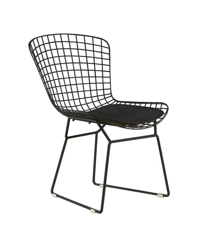 Holly Wire Dining Chair Wire Dining Chairs Bertoia Side Chair Dining Chairs