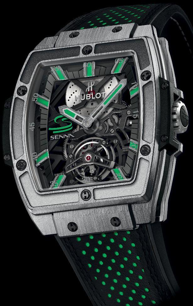 Marca Ayrton Senna - Coleção de Relógios -  Business - (Hublot MP-06 Ayrton Senna Titanium)