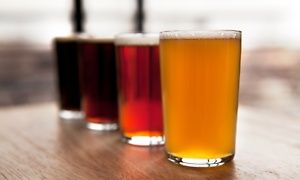 Groupon - Craft Beer Tasting with Pretzels for Two or Four at Rancho Las Lomas (Up to 54% Off)  in Irvine-Lake Forest. Groupon deal price: $29
