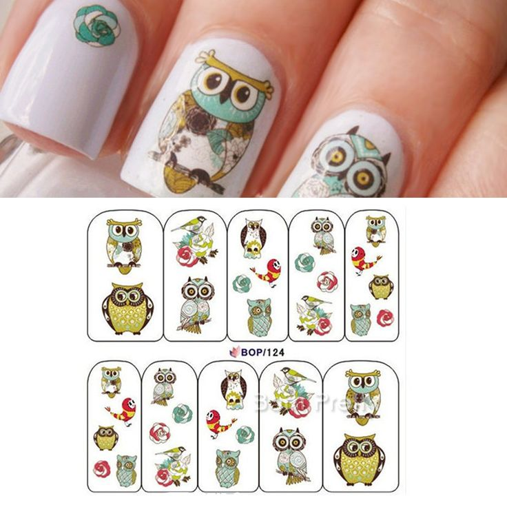9 best Nail art decal / stickers images on Pinterest | Stickers ...