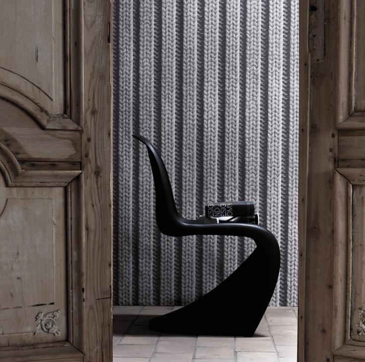 Skap en god og lun følelse med Vrangbord på veggen #Wallpaper