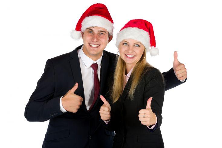 Christmas Business People