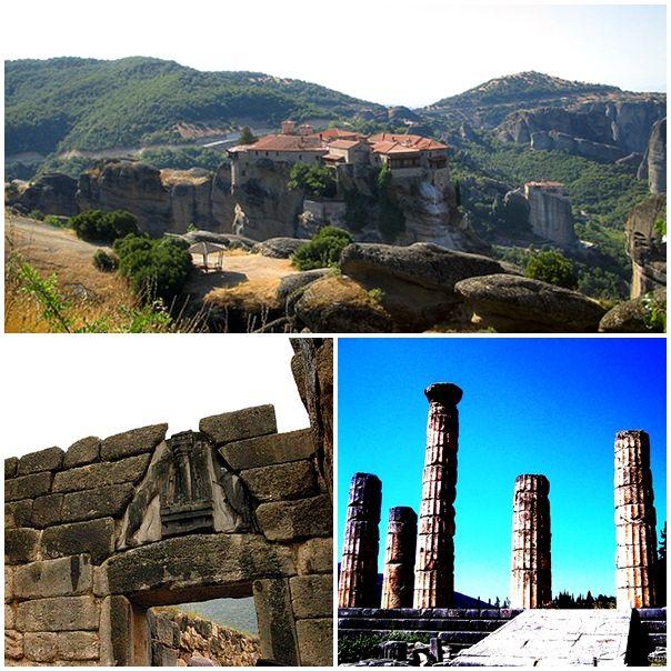 Classical Greece Circuit: Athens – Epidaurus – Mycenae – Meteora – Delphi – Athens
