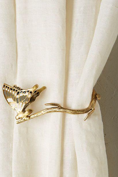 Wingspan Tieback, butterfly & branch #anthropologie
