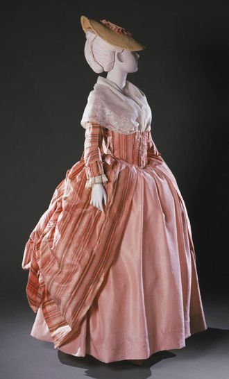 Robe à la Polonaise 1765-1780 The Philadelphia Museum of Art