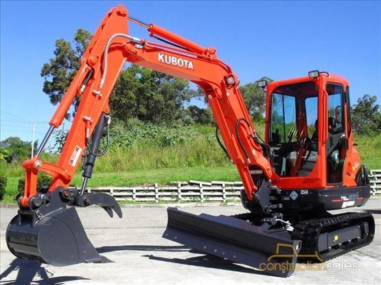 » Kubota KX121-3 4.5 Tonne Compact Excavator 5.9Hrs #1914 For Sale Construction Sales Australia