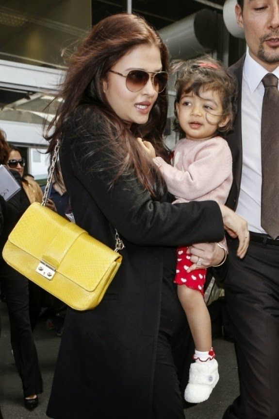 Aishwarya Rai Bachchan With her Daughter - The Bollywood Movies