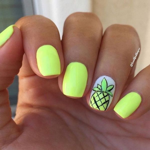 50 Most Trending Summer Nail Design Ideas 2019 Summer Gel Nails