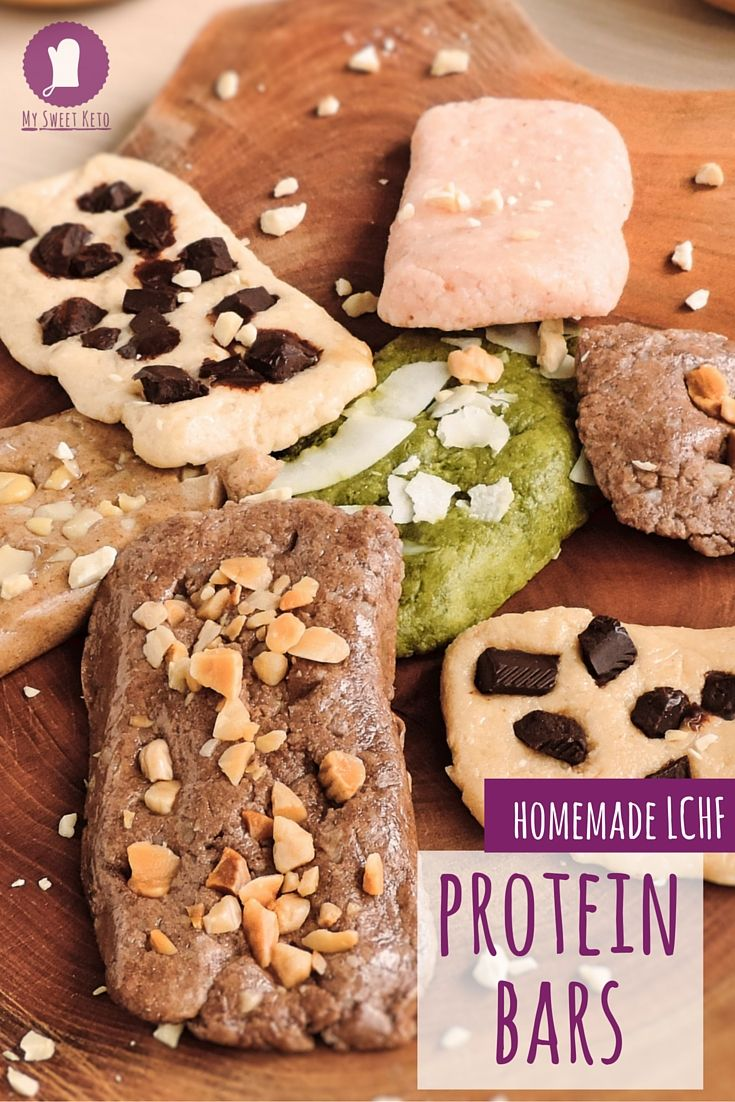 LCHF protein bars (homemade Quest bars)