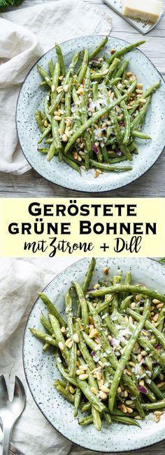 Dieses Rezept für leckere, grüne Bohnen mit Zitrone und Dill veredelt jedes Gericht. Mit vielen frischen, saisonalen Zutaten ist es eine perfekte Sommerbeilage. So könnt Ihr grüne Bohnen richtig abfeiern. Einfache Gesunde Rezepte - Elle Republic