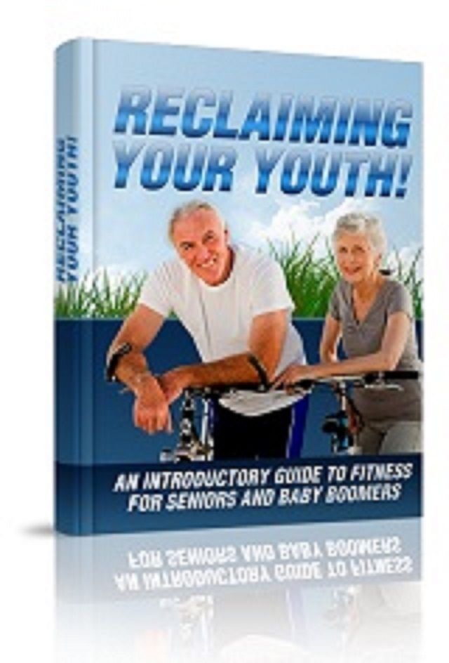 Reclaiming Your Youth    book---CD