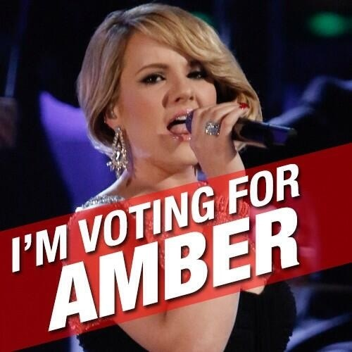 Vote for Amber!