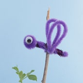 Insect and spider crafts, appropriate for lots of different ages