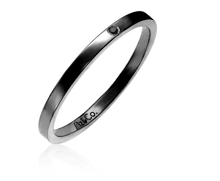 Promesa Black Diamond Band — Iz&Co.