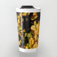 Gold Travel Mug Make your mornings less of a drag, with brightly coloured, and brilliantly patterned travel mugs.