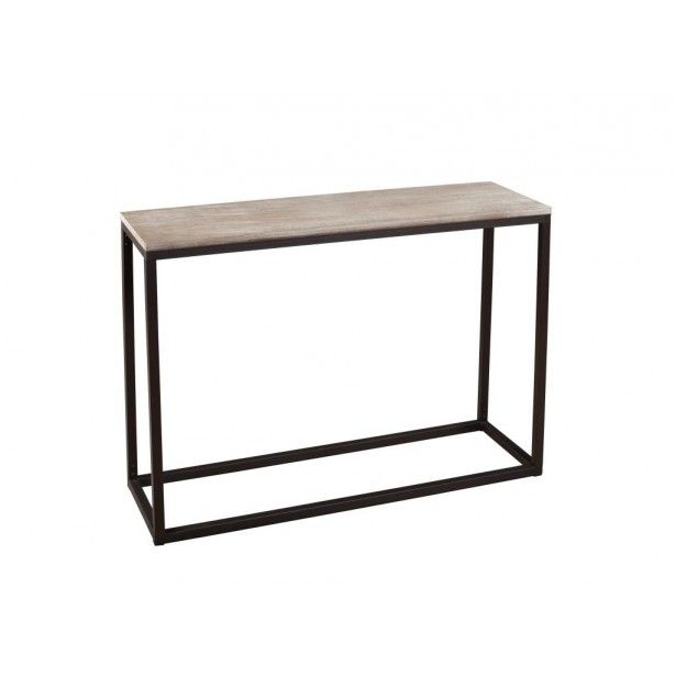 1000 ideas about console bois metal on pinterest table. Black Bedroom Furniture Sets. Home Design Ideas