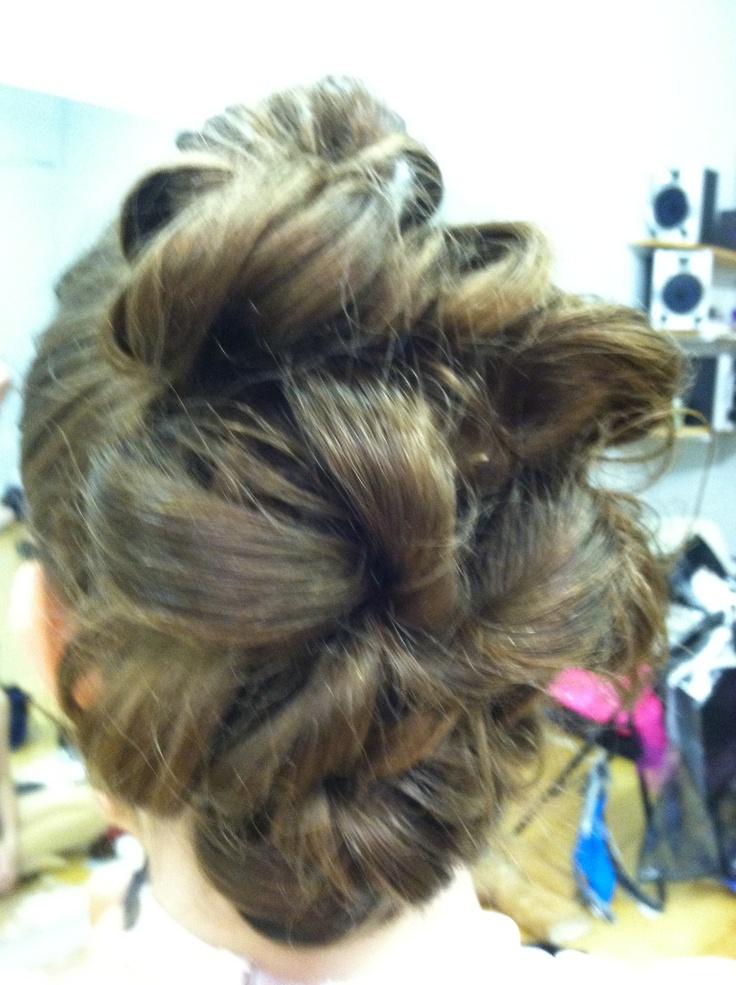 The Johawk! Dance Competition Hair!!