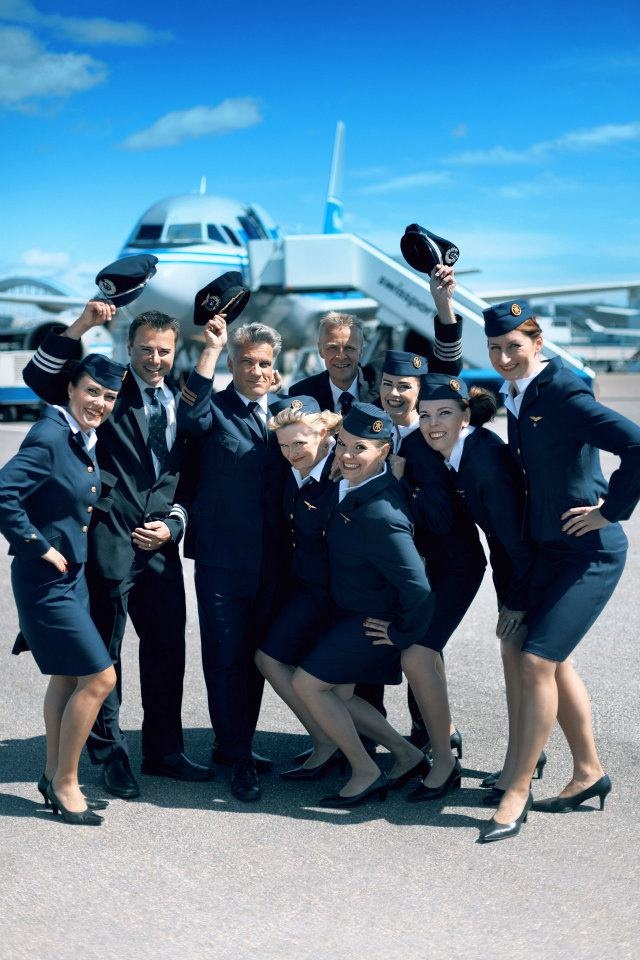 Finnair Retro Crew (Photo by Ville Salminen/Obscure