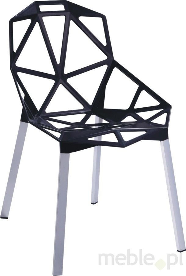 Krzesło Gap czarne, D2 - Meble