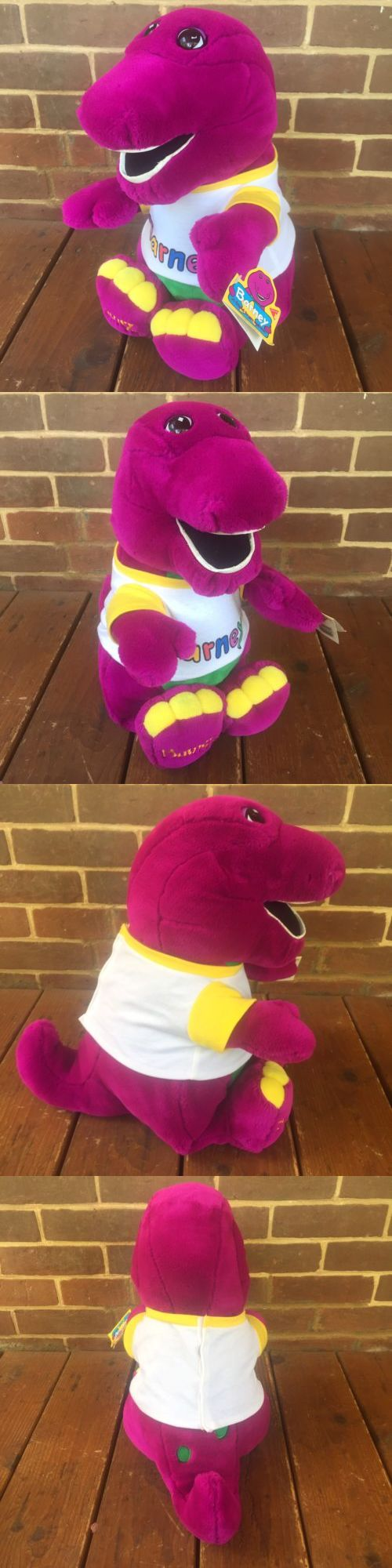 Barney 2625: Vintage Barney The Purple Dinosaur Dakin The Lyons Group 20 Plush Nwt New 1992 -> BUY IT NOW ONLY: $135 on eBay!