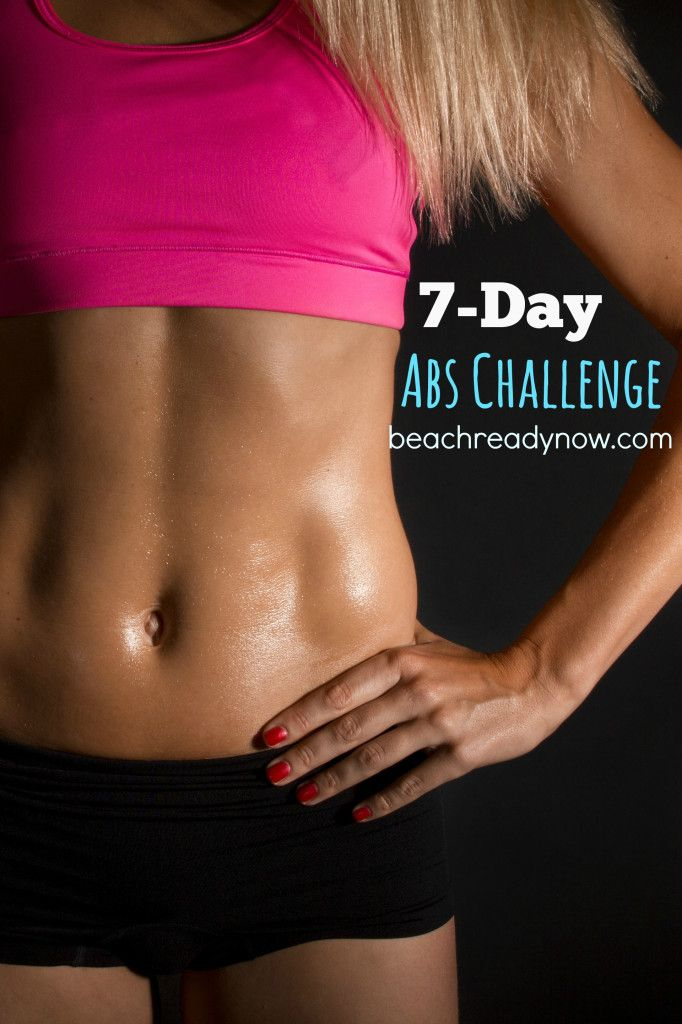 FREE 7-Day Abs Challenge - The Abs Challenge is designed to blast those abdominals with simple yet effective exercises.  You don't need any equipment, just a desire to succeed. We will have a closed online support group (on Facebook) where each day you will get a set of exercises, a tip, a video, plus the support and encouragement required to make it happen.  (Read MORE>>>)