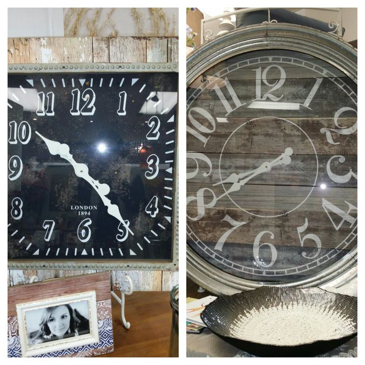 New in store Large wall clocks Time piece for any home Layby is welcome