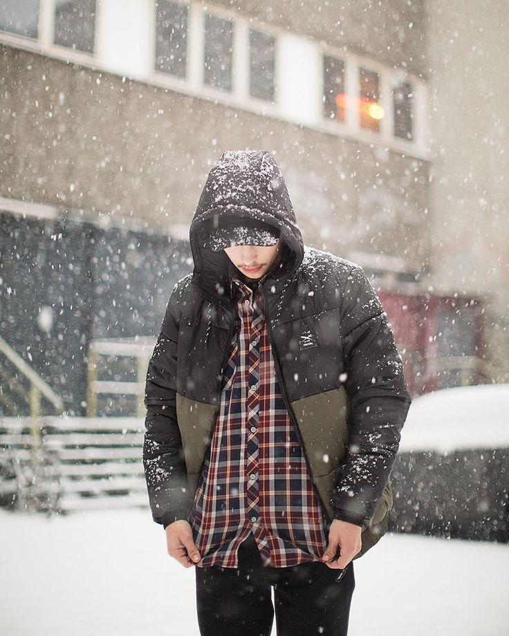 """The """"Stagger Hood Jacket"""" is available online Two colors - all sizes / #wintertimes #iriedaily #berlin"""