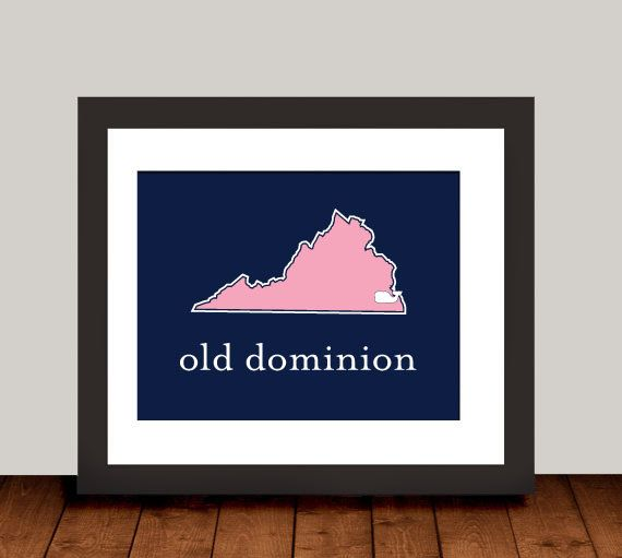 Old Dominion University ODU Monarchs Norfolk by DemersDesign