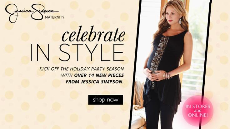 Jessica Simpson Maternity Clothing Line