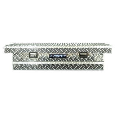 Lund Inc. Economy Line Cross Bed Truck Tool Box Color: Silver