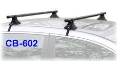 CB-602 Universal Car Roof Racks. Telescoping cartop luggage rack.